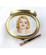 Limoges Box - Marilyn Monroe Portrait Makeup Co... - $149.00