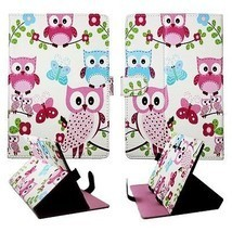 Blue Butterfly Pink Owl Case for Asus Nexus 7