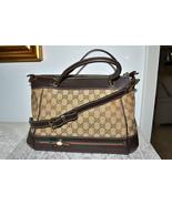 New $1470 Authentic GUCCI Monogram Handbag Cros... - $968.77