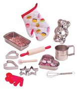 Kids Toy Pretend Cooking/Baking Play Set - 18-P... - $36.91