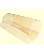 Amber 3 X 8 Cylinder Tube Light Lamp Shade Glas... - $24.95