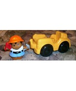 FISHER PRICE LITTLE PEOPLE JEEP STYLE TRUCK 199... - $5.95