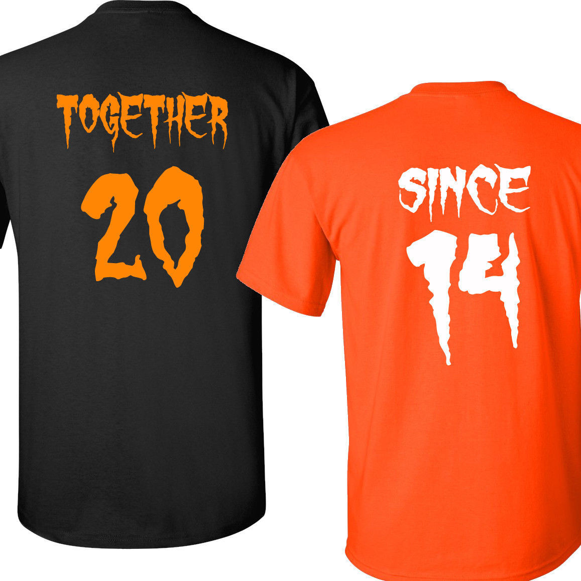 COUPLE T Shirts Together Since Halloween Costume T Shirt