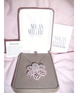 NOLAN MILLER GLAMOUR COLLECTION BLOSSOM PENDANT - $16.00