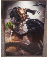 Predator vs Alien Glossy Print 11 x 17 In Hard ... - $24.99