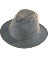 Henschel Waxed Cotton Safari Mid Size Brim Crus... - $40.00