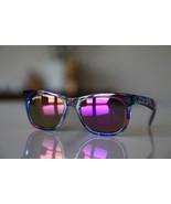 Vintage Tortoise Sunglasses Floral/ Golden Viol... - $25.50