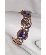 Vintage Egyptian Revival Bracelet Alexandrite P... - $3,564.00