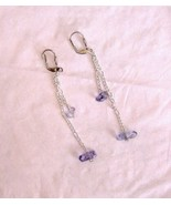 true blueberry quartz in silver 2.5