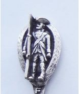 Collector Souvenir Spoon USA New York Fort Tico... - $24.99