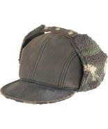 Henschel Oilcloth Sherpa Camo Fleece Lined Earf... - $39.00