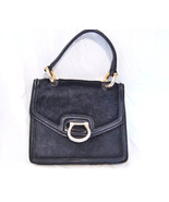 RETRO Made in Italy calf hair and leather bag H... - $130.00