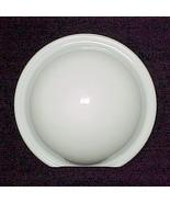 Round White Art Deco Wall Sconce Light Lamp Gla... - $18.95