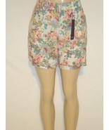 NEW $44 TAG Gloria Vanderbilt Linen Blend Short... - $21.78
