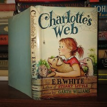 E. B. White    CHARLOTTE'S WEB   Book Club Edit... - $50.00