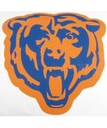 Chicago Bears Window Decal Blue & Orange - $5.00