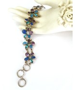 Handmade Beautiful Multi-Gemstone 925 Sterling ... - $156.00