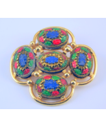 Vintage Sarah Coventry Light of the East brooch - $25.00