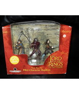 2002 Lord Of The Rings  Mini Character Replicas... - $27.99