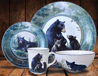 Wildlife Dishes Set Jpg