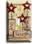 LIVE LAUGH LOVE SINGLE LIGHT SWITCH WALL PLATE ... - $8.99