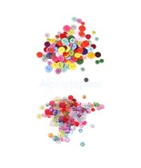 200PCS BUTTONS MIXED COLOURS CRAFT SCRAPBOOK SE... - $7.61
