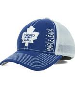 REEBOK NHL TORONTO MAPLE LEAFS STRUCTURED BLUE/... - $19.89