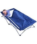 Sleeping Bag Cot Bed Camping Folding Kid Portab... - $44.97