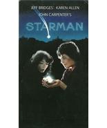 Starman VHS Jeff Bridges Karen Allen - $1.99