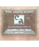 Collins & Aikman Pen Argyl Plant 1974 ash tray,... - $5.00