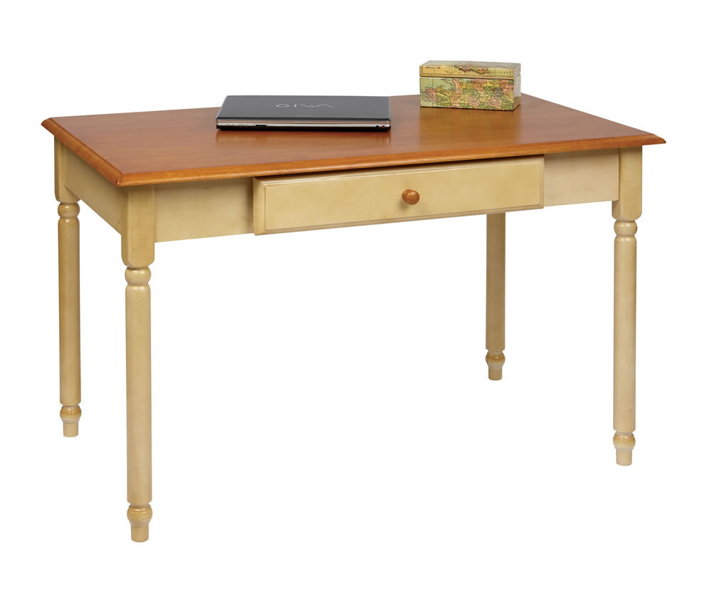 Finish Computer Writing Desk w/Drawer - Desks & Home Office Furniture