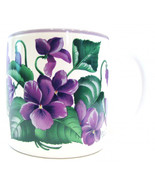 Purple Impatiens Coffee Mug Jane Bowen - $20.00