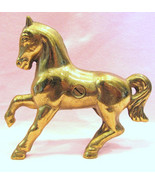 Brass Still Bank Prancing Horse  - $55.00