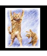 Yoga CAT 1 Re-Mastered Digital Art - $10.00