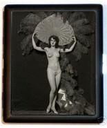 Flapper Follies Feathers Cigarette Case Busines... - $9.89
