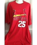 Sport Shirt Cardinals Baseball Red Shortsleeved... - $21.99