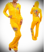 Plus Size Yellow Valour Lounge Hoodie Set - $49.99