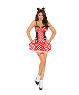 Sexy Elegant Moments Miss Minnie Mouse Hallowee... - $37.99
