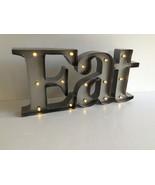 Eat Retro Lighted Marquee Sign Studio Décor® Mi... - $88.00