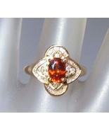 Oval 1.44ct Mandarin Spessartite Garnet Diamond... - $278.88