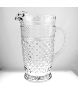Vintage Anchor Hocking Wexford glass water pitc... - $18.00