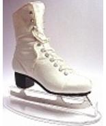 Figure 8 Traditional White Ice Skating Skate Po... - $69.99