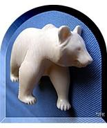 Polarbear carved Figurine Icebear Pre-Ban preci... - $198.75