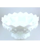 Vintage Fenton hobnail opaque white milk glass ... - $15.00