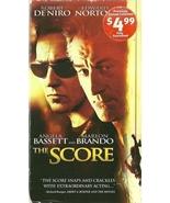 The Score VHS Robert De Niro Edward Norton Marl... - $1.99