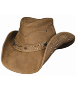 Bullhide Hidden Pleasures Leather Cowgirl Hat S... - $80.00