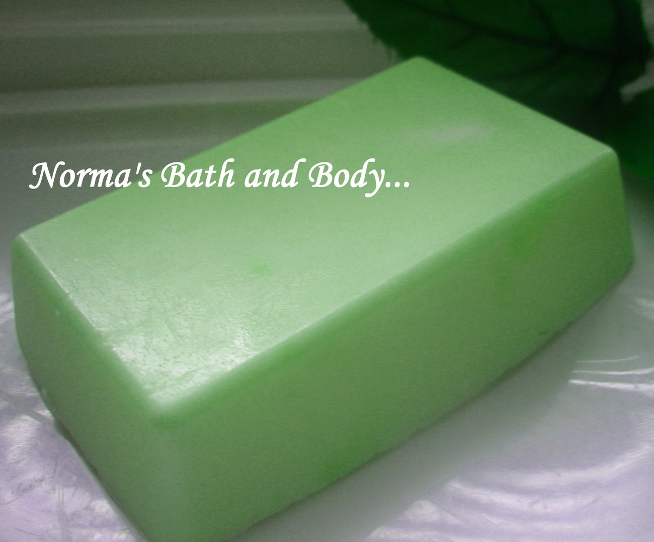 cucumber melon  goats milk glycerin soap