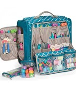 Crafters Organizer Tote Bag Scrapbook Supplies ... - $120.29