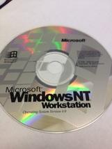 MICROSOFT WINDOW NT WORKSTATION SOFTWARE CD PLU... - $6.00