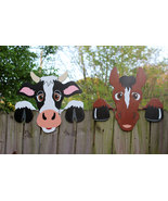 Set of 2, Cow & Horse Fence Peekers - $75.00
